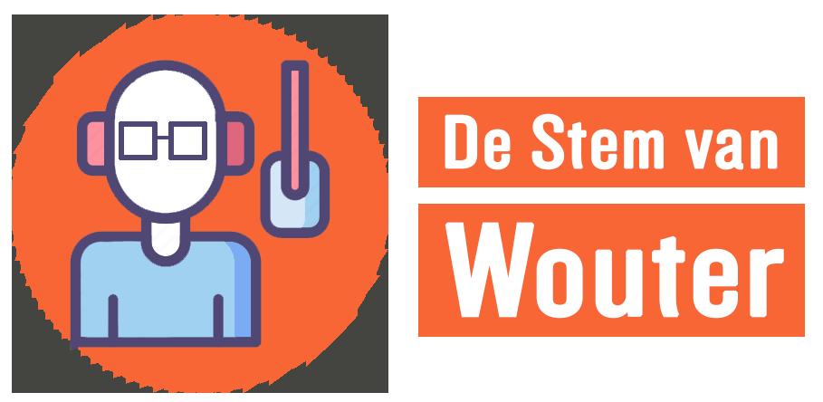 De stem van Wouter Logo
